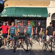 Saturday Morning Chainlink Group Ride