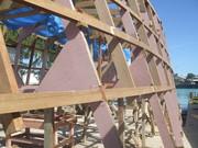 Construction of Banaba's Boat Tarawa - Banaba Rehabilitation Trip