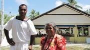 Kakua and mum @ Amatuku 2009