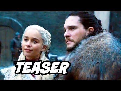 Game Of Thrones Season 8 Episode 4 - Jon Snow Daenerys Night King Prophecy Explained