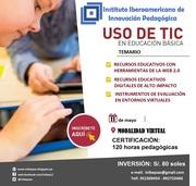 CAPACITACIÓN DOCENTE USO DE TIC EN EDUCACIÓN BÁSICA