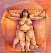 BBW Vitruvian Woman