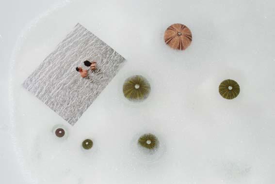 Chinese in my bathtub - photo by Stephanie Seymour