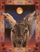 Buffalo-moon