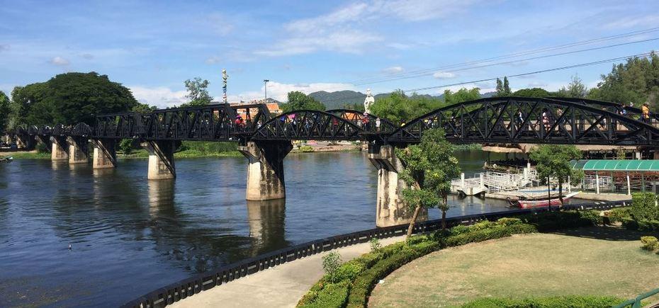 Mae Klong River Bridge