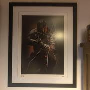 Judge Dredd Poster (Signed by artist Henry)