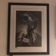 Boba Fett Poster (Signed by artist Adi Granov)