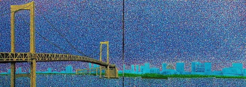 Rainbow Bridge.Japan.