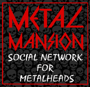 "metal mansion ""button"""