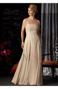 Floor-length Lace A-line/Princess Mother of The Bride Dresses