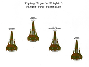 Edited 3-7-15 Flight 1 New Finger Four Formation