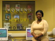 Thai Armstrong Women's History Month Display