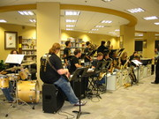 Library Open House Jazz band