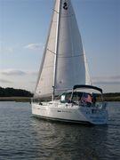 Drac Verd sailing, look no motor