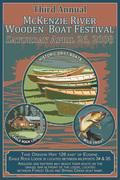 2008 MR drift boat festival poster