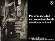Campaña de Sensibilización ante el Discapacitado.