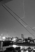 Tormenta en Caracas el 17 de agosto de 2011