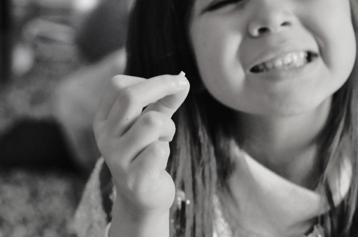 un diente de leche