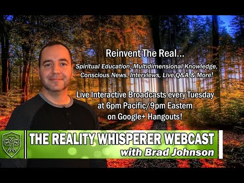 Reality Whisperer Webcast: Agartha & The Inner Earth..HIGHLY RECOMMEND