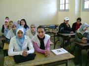 Clase en Fez, Marruecos