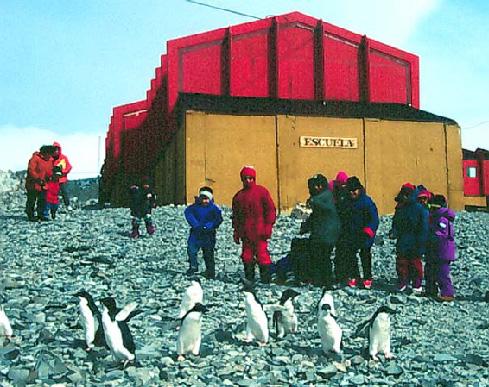Esc. en la Antártida Argentina