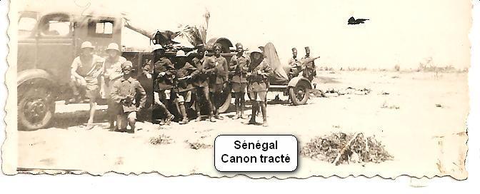 Canon tracté