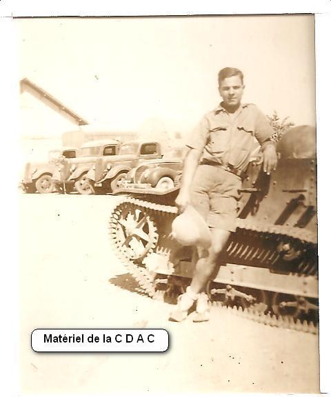 Matériel de la CDAC