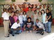 Merauke - 1st Team of Facilitators with Strong Local Govt. Support