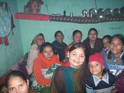 Dream building exercise with the Nepali women