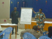 Formation des mediateurs de memoire à Boma RDC