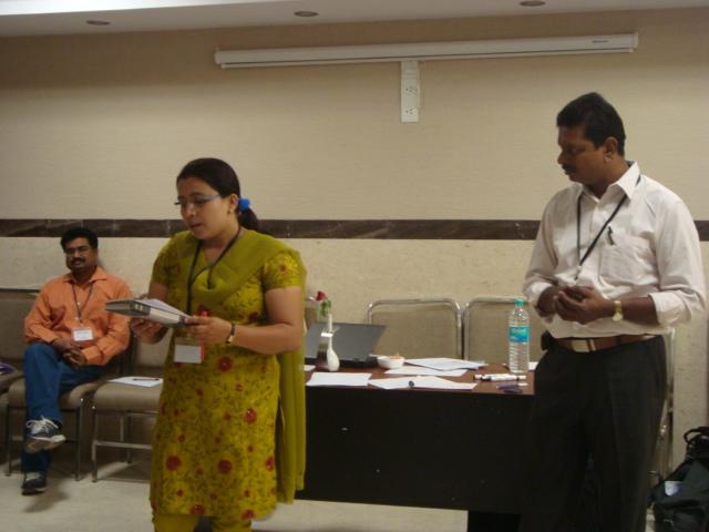 Manita and Prabakar share