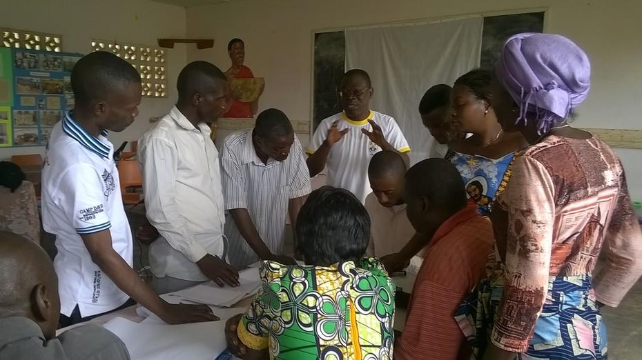Revue participative du projet GCSE - Mbanza Ngungu, RDC, Février 2015