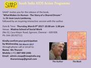 Invite by SIAAP Chennai India