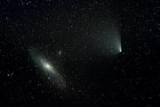 Andromedagalaxen och PanStarrs