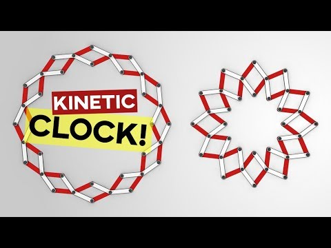 Kinetic Clock (Grasshopper Tutorial)
