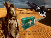 Little Eagle  4 string Cigarbox BCB
