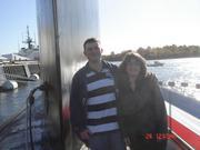 Nathan & Sarah topside