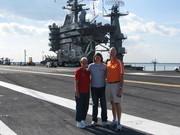 Flight deck of USS Harry S Truman