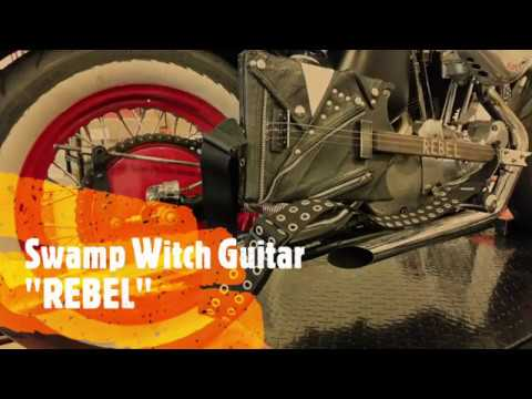 The Wild Rebel - Swamp Witch Guitar