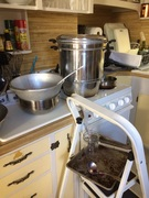 2016 Set-up with my Stainless Steel Fruit Juicer Steamer