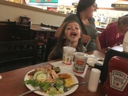 Brooklyn, my great-granddaughter, participated