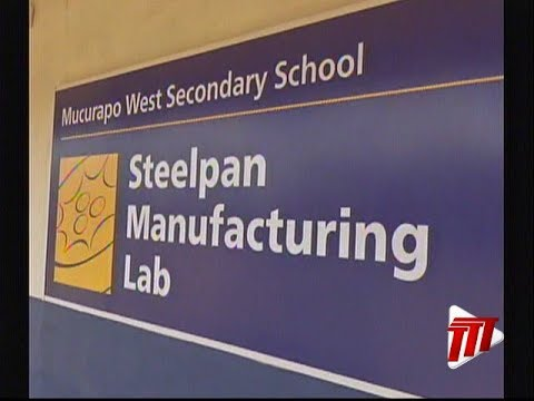 Steelpan Manufacturing Lab At Mucurapo West Secondary School