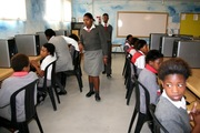 School visits in South Africa
