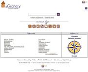 Screenshot of eGranary in Mbita Kenya