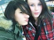 annika and friend