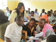 Teacher Workshop in Tanzania, 2011