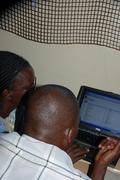 Teachers learn how to use computers