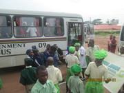 students' arrivals