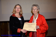 A richly deserved award to our very own Joan Flannery - Housing Hero