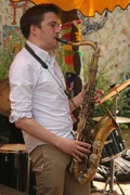 George Crowley quintet ... Fantastic jazz at Funday come along